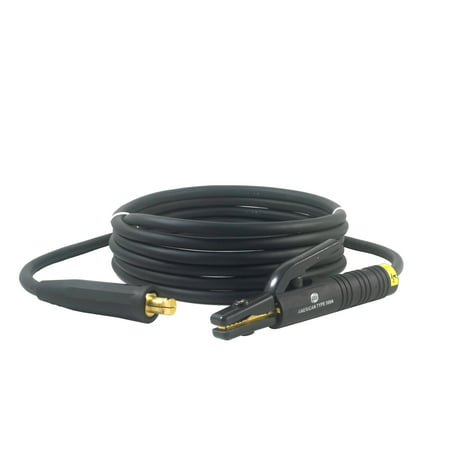 300 Amp Welding Electrode Holder Lead Assembly - LC40 Connector - #1 AWG cable (15