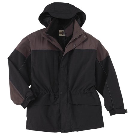 North End Mens Cf 3 In 1 Parka, Black, 3X, Style,