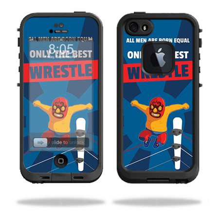 Skin For LifeProof iPhone 5 / 5S Fre Case – Best Wrestle | MightySkins Protective, Durable, and Unique Vinyl Decal wrap cover | Easy To Apply, Remove, and Change Styles | Made in the USA - Halloween In 5s Online Office
