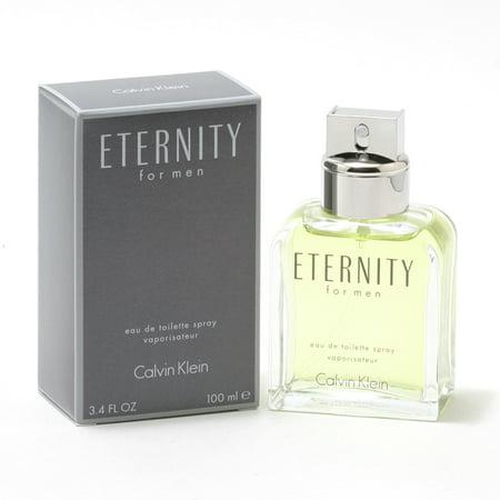 Calvin Klein Eternity Cologne for Men, 3.4 Oz