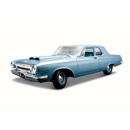 1963 Dodge 330, Blue - Maisto 31652 - 1/18 Scale Diecast Model Toy Car
