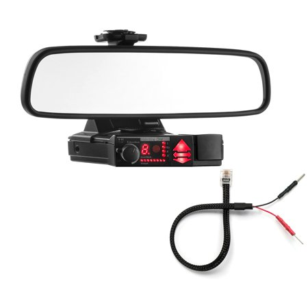 Mirror Mount Bracket + Mirror Wire Cord - Valentine V1 Radar Detector