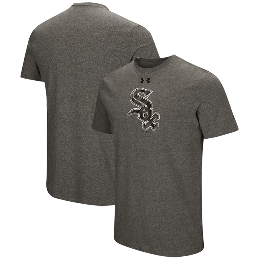 Chicago White Sox Under Armour Passion Alternate Logo T-Shirt - Heather Gray