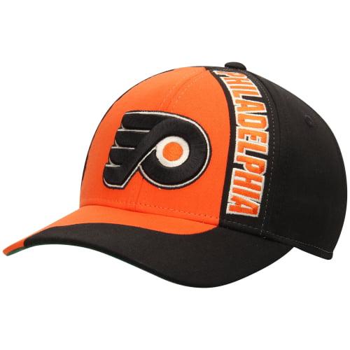 Philadelphia Flyers Reebok Retro Block Structured Adjustable Hat - Orange - OSFA