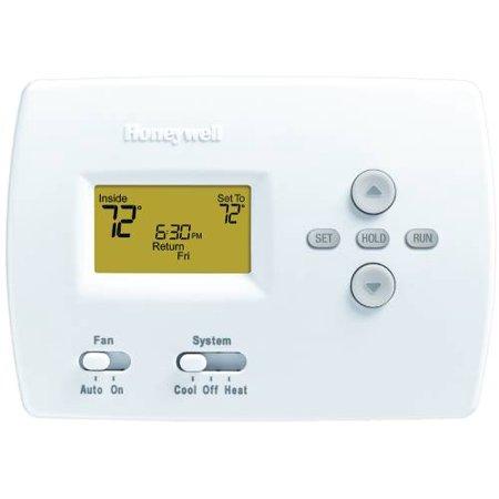 Honeywell Pro 4000 5-2 Programmable Digital Thermostat, 1 Heat-1 Cool, White (Honeywell Pro 4000 Thermostat)
