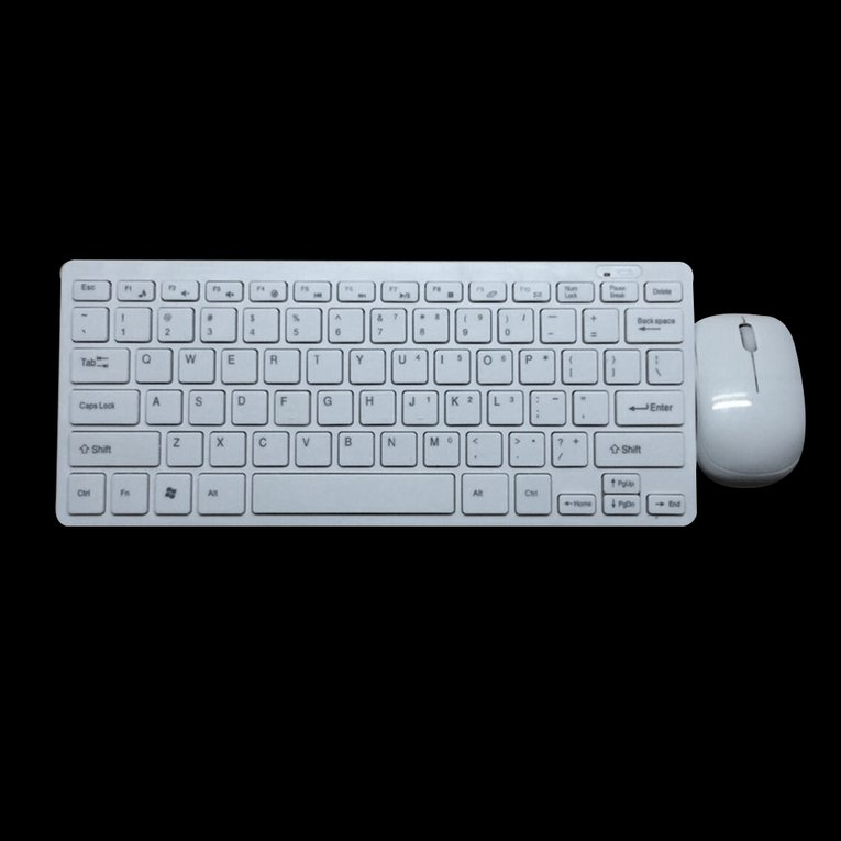Mini 03 2.4G DPI Wireless English keyboard and Optical Mouse Combo for Desktop