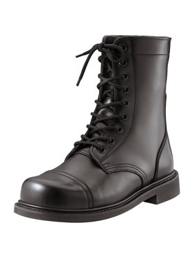 Classic Combat Jump Style Boots with All-Leather Upper