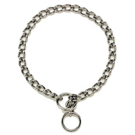 05520 A G2016 16 in. Chain Dog Collar, 2 mm