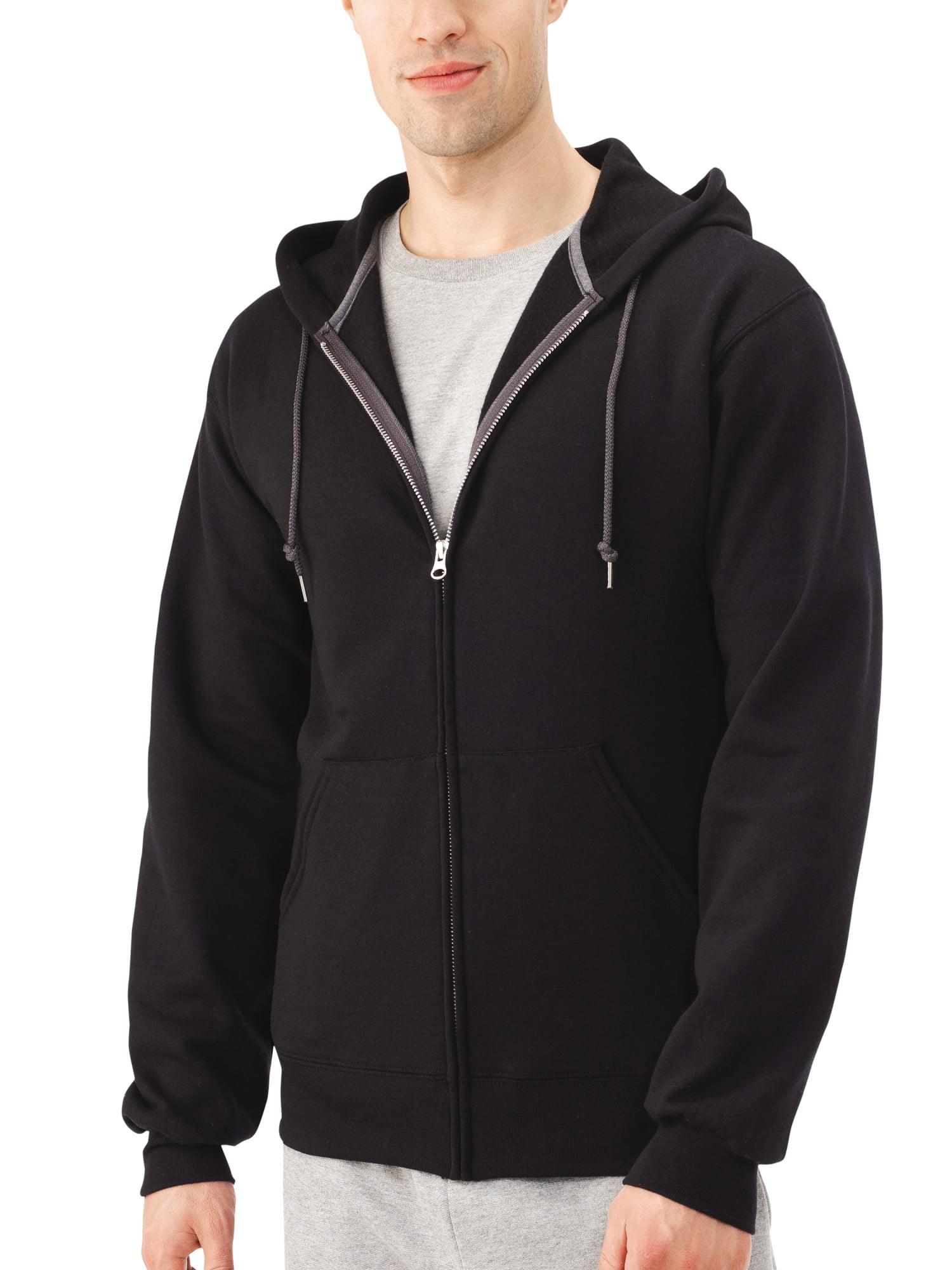 c4487cce Fruit of the Loom - Fruit of the Loom Men's Dual Defense EverSoft Fleece  Full Zip Hooded Sweatshirt - Walmart.com