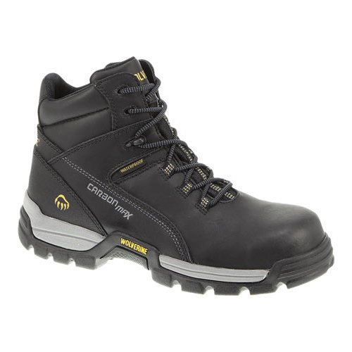 wolverine men's tarmac work boot,black,12 xw us