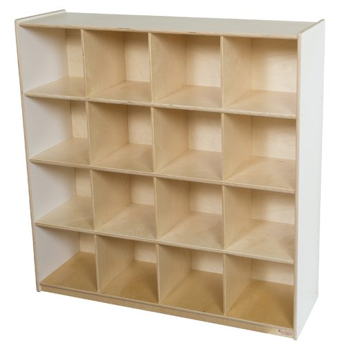 Wood Designs Storage 16 Compartment Cubby