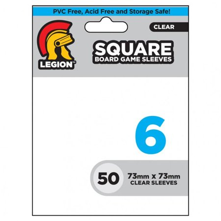 Square Board Game Card Sleeves (50) New - Square Game