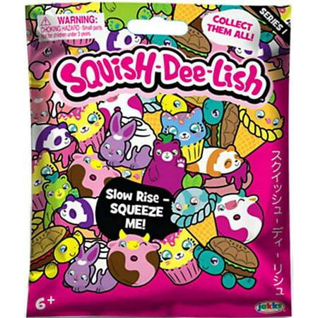 Squish Dee Lish Box : Squish-Dee-Lish Animals Series 1 Mystery Pack - Walmart.com