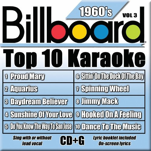 Billboard Top 10 Karaoke: 1960's, Vol. 3 by