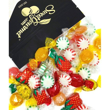 Wedding Mints Bulk (Arcor Hostess Mix | Filled Strawberry, Butterscotch Buttons, Cinnamon Disks, Mint Starlights, Lemon Discs | deluxe hard candy mix bulk | 2)
