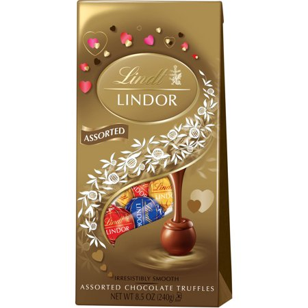 Lindt Lindor Assorted Chocolate Truffles, 8.5 oz