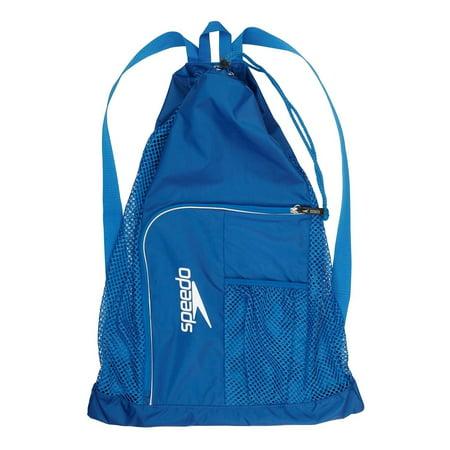 Sdo Swim Deluxe Ventilator Mesh Equipment Pool Gear Bag Imperial Blue Royal 24x17 Sized