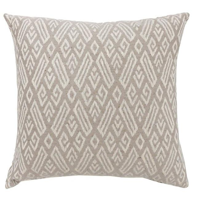Benzara BM131640 CICI Contemporary Big Pillow with Pattern Fabric, Red - Set of 2 - image 1 de 1