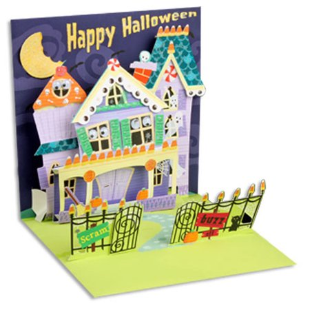 Up With Paper Keep Out Pop-Up Halloween Card