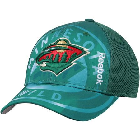 Minnesota Wild Reebok Nhl 2016 Center Ice 2Nd Season Adjustable Hat