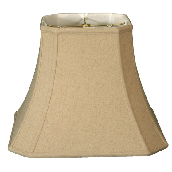 Royal Designs 18 Quot Square Cut Corner Bell Lamp Shade Linen