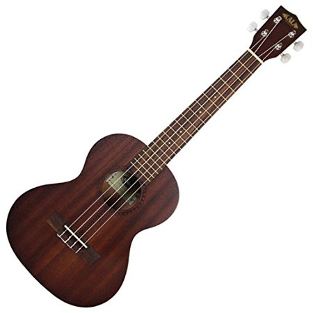 Kala Mahogany Tenor Ukulele, Aquila Strings, Geared Tuners, Satin, (Gore Gore Mukhde Pe Kala Kala Chasma Gana)