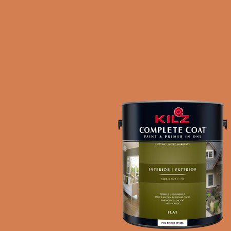 Spice Market, KILZ COMPLETE COAT Interior/Exterior Paint & Primer in One, (Best Paint On The Market)