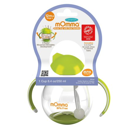 Lansinoh mOmma Stage 3 Straw Sippy Cup