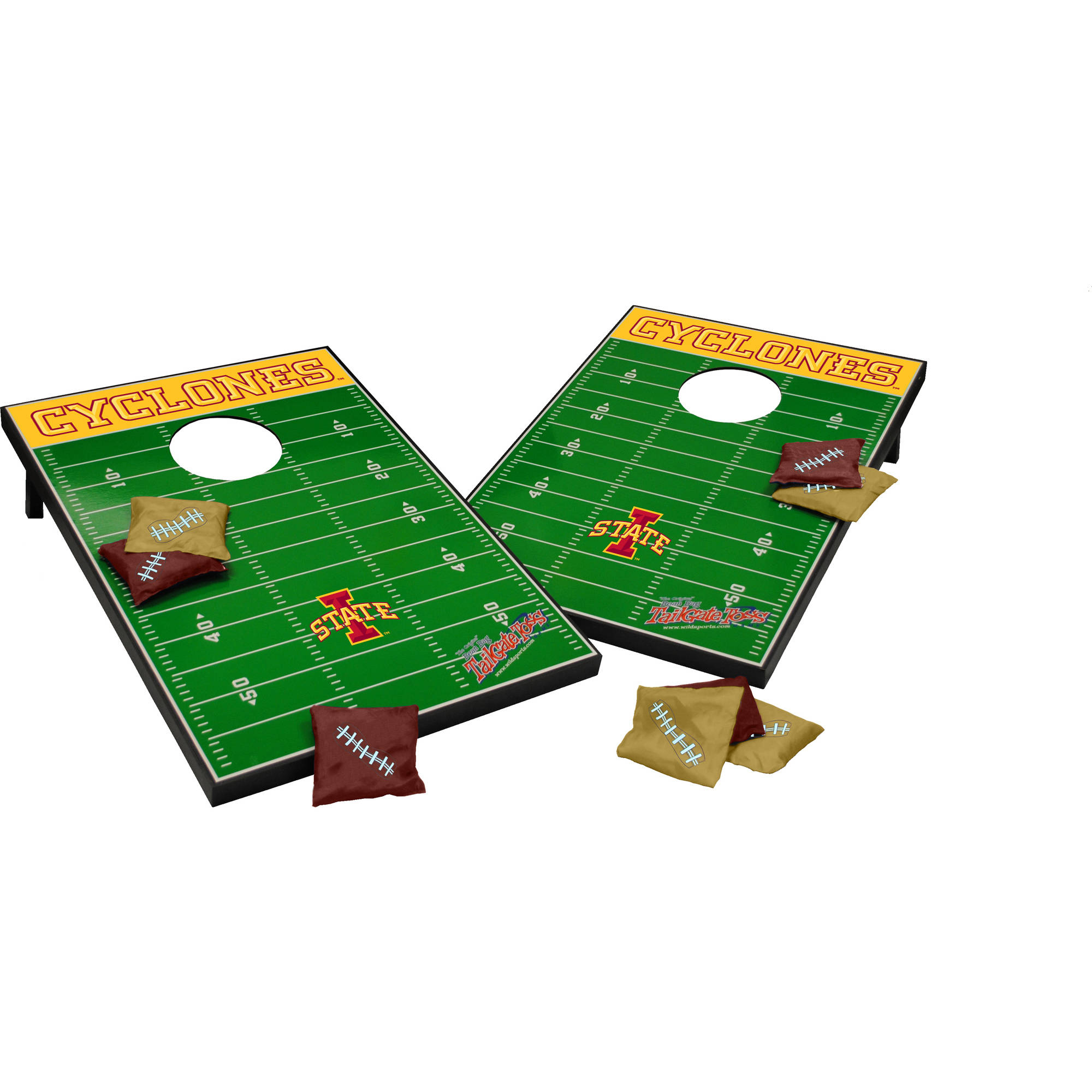 Wild Sports Collegiate Iowa State Cyclones 2x3 Field Tailgate Toss