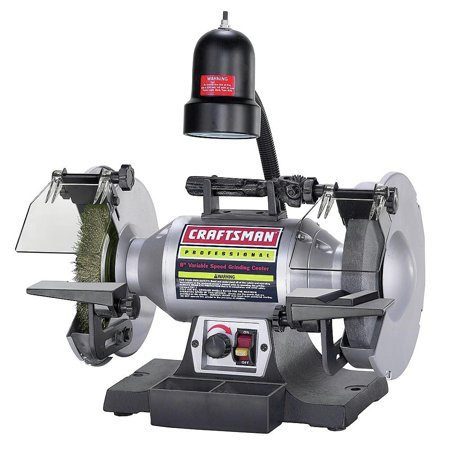 Craftsman 921162 8 in. Professional Variable Speed Bench (Best Budget Bench Grinder)