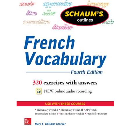 Schaum's Outline of French - Halloween Vocabulary French