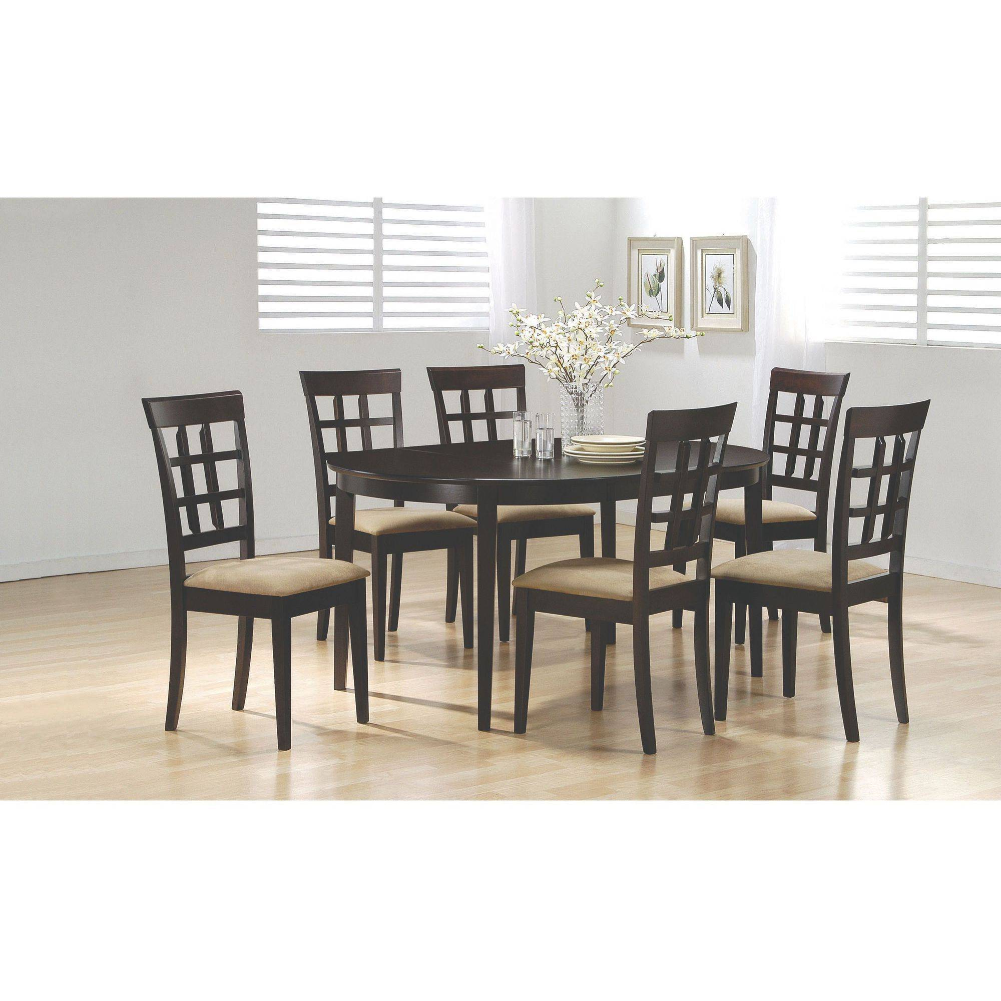 . Coaster Company Gabriel Collection  Dining Table   Walmart com