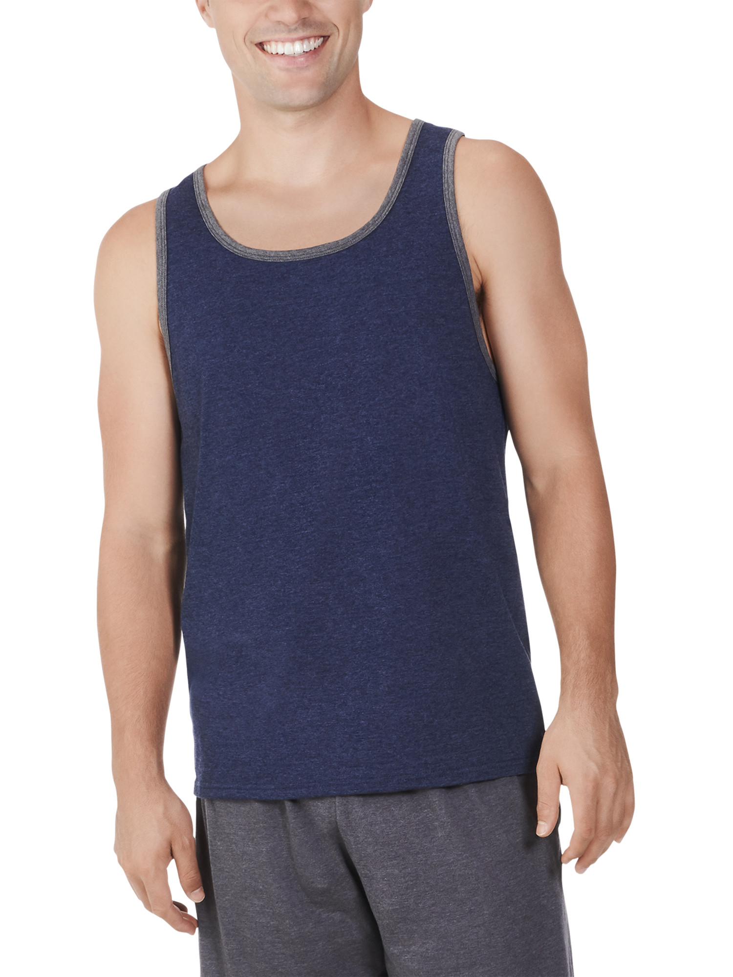 Men's Dual Defense UPF Tank, Available up to sizes 4XL