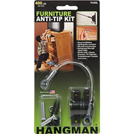 Hangman Tk400l Anti Tip Kit For Furniture