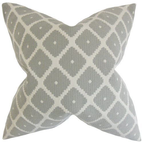The Pillow Collection Fallon Geometric Bedding Sham