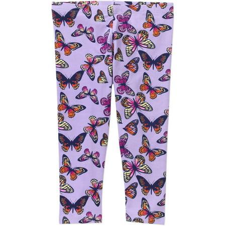 d1d10019a0a452 Faded Glory - Girls' Capri Legging - Walmart.com