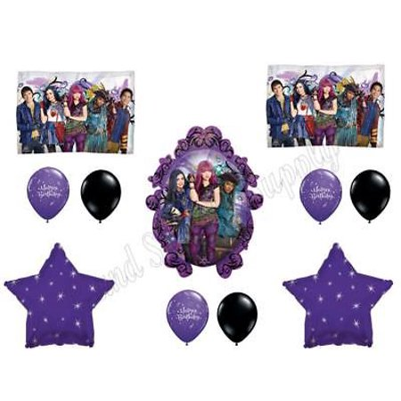 DESCENDANTS 2 Happy Birthday Party Balloons Decoration Supplies Movie Wicked](Movie Party)
