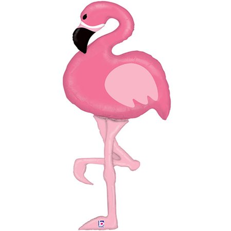 Special Delivery Flamingo Foil Balloon 60
