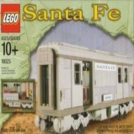 Lego Santa Fe Train Cars Set I  10025