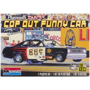 Plastic Model Kit, Plymouth Duster Cop Out Car, 1/24