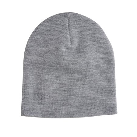 abc5db42541 Gravity Outdoor Co. Slouchy Winter Beanie - Grey White