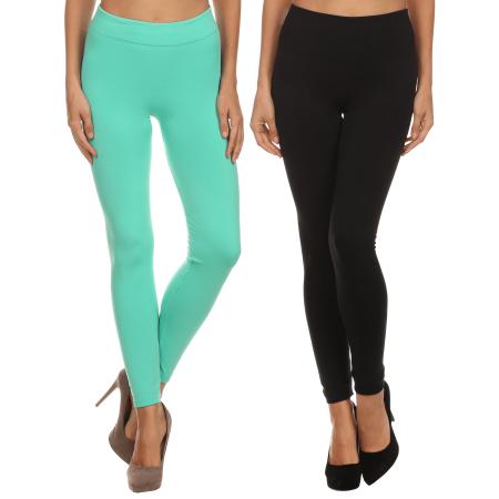 b2dedc0962348 Simlu - Seamless Fleece Lined Leggings for Women Warm Winter Stretch Tights  Legging - Walmart.com