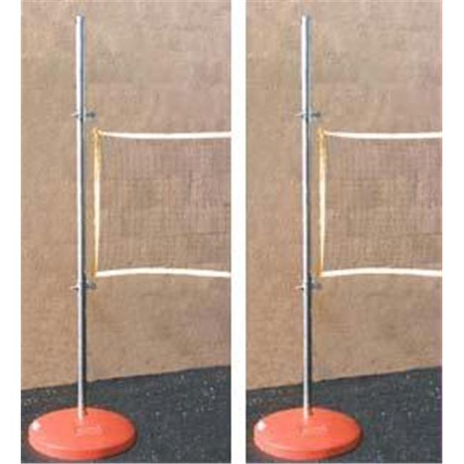Olympia Sports GY255M 2 Fillable Game Bases with 6 ft. Poles & Slides