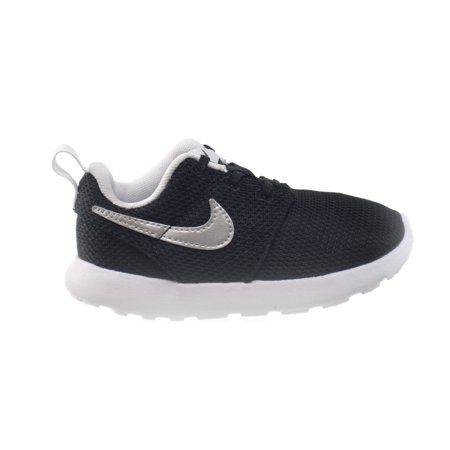 37f96e3ad4023 Nike Roshe One (TDV) Infants Toddlers Shoes Black Mettalic Silver-White  749430-021 - Walmart.com