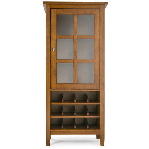 Simpli Home Warm Shaker High Storage Wine Rack by Simpli Home