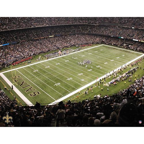 Artissimo Designs NFL Saints Stadium Canvas, 22x28