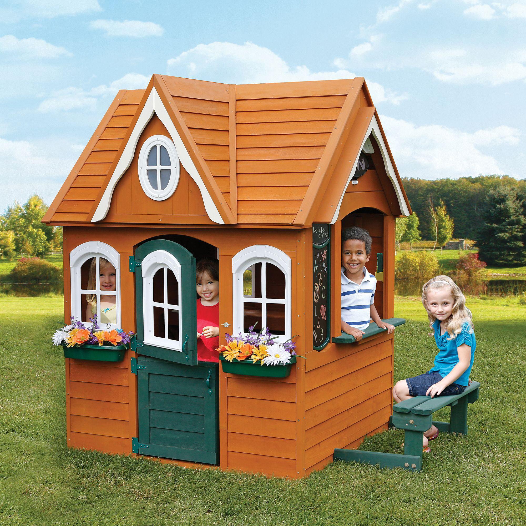 Домики для детей деревянные