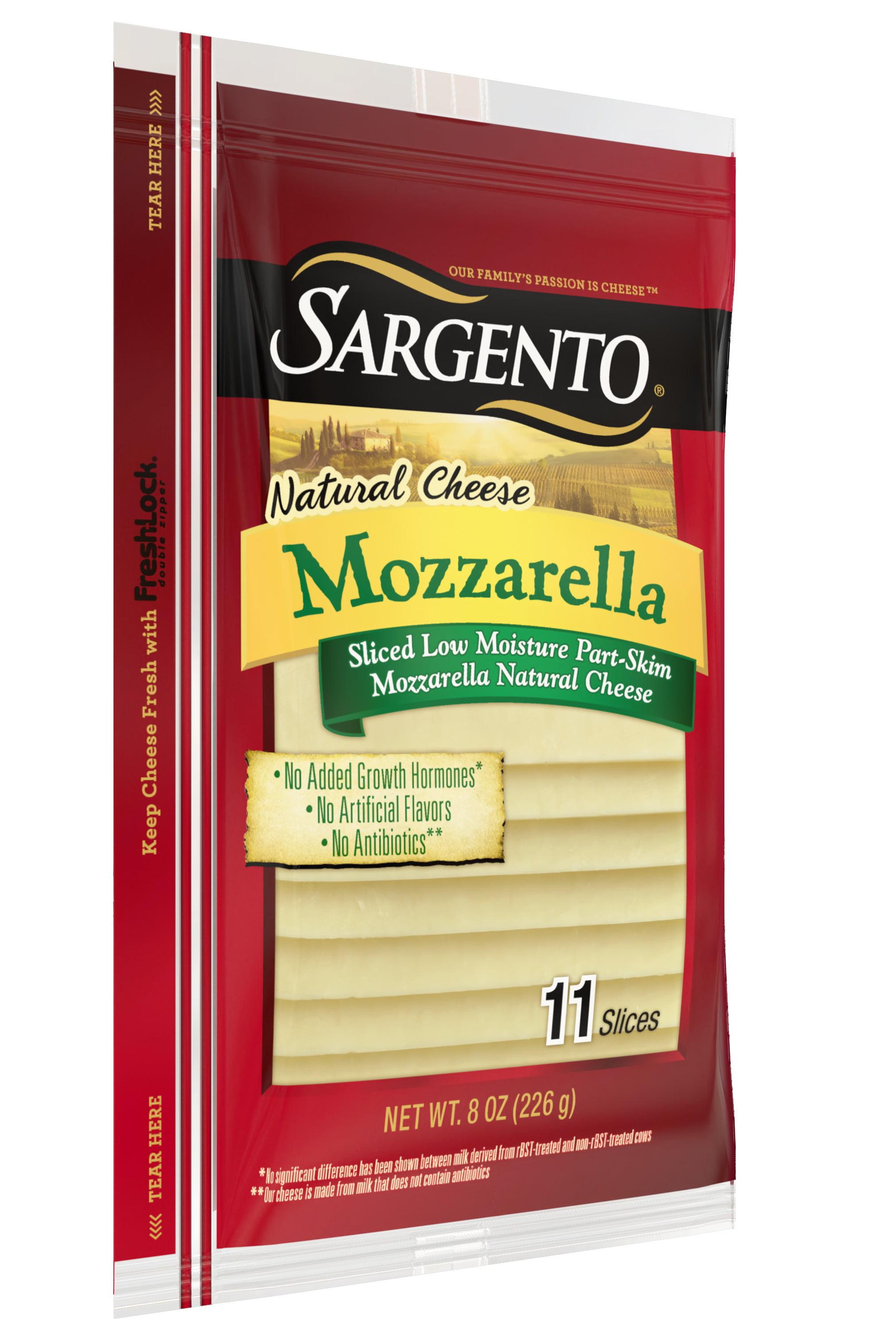 Sargento® Sliced Mozzarella Natural