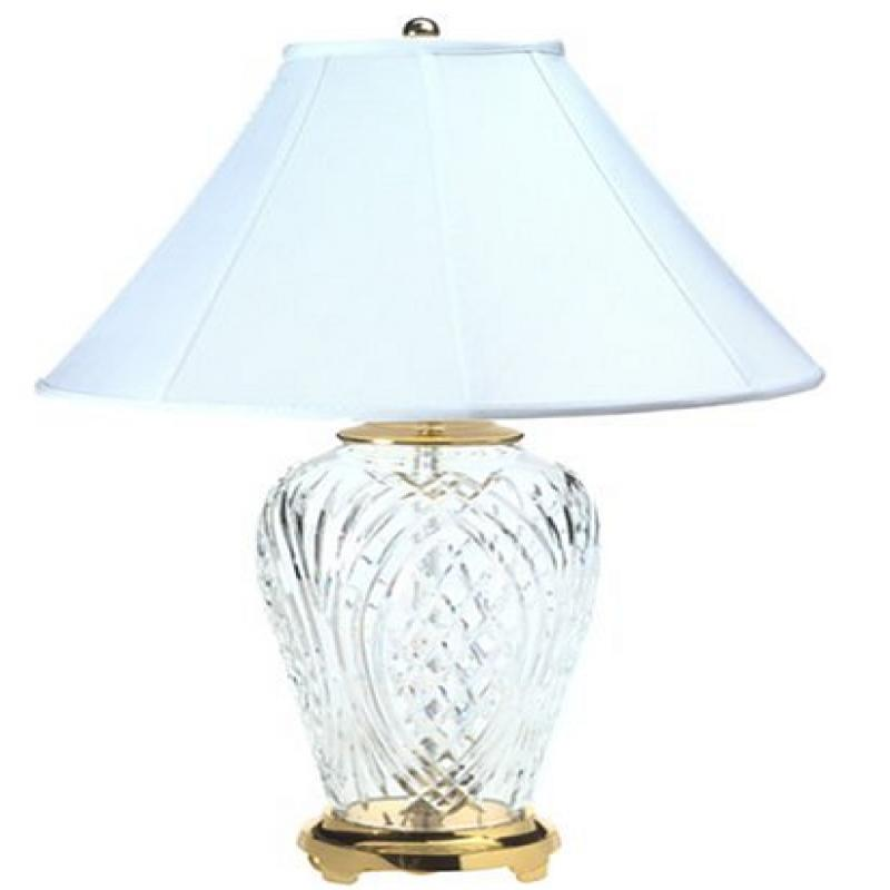 Waterford Kilkenny Table Lamp in Polished Brass