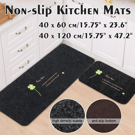 Modern Non-slip Door Floor Rug Mat Kitchen Bathroom Carpet Home Decor ()